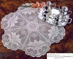 Вязание скатерти крючком филейная сетка 52