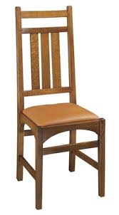 harvey ellis side chair no inlay mission furnituredining room