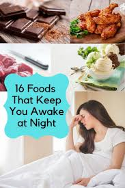 You're right, caffeine can help us stay awake—but only for so long. 16 Foods That Keep You Awake At Night Food Awake How To Stay Awake