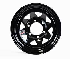 Rim 15x6 6 5 5 black spoke 2830 4 27cb