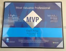 Microsoft Mvp Certification About