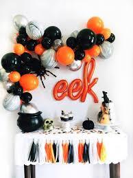 Halloween Balloon Garland Kit - Halloween Party Decor - Halloween Balloons  - DIY Balloon Garl… | Birthday halloween party, Halloween balloons,  Halloween party decor