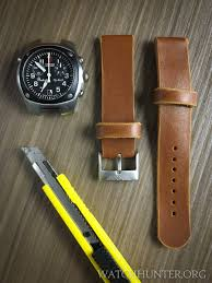the leather watch bands before they got altered