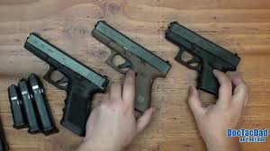 Glock Size Chart Glock 17 Vs 19 Difference And Comparison Diffen