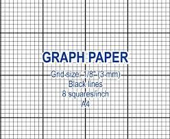 Black Graph Paper Graph Paper Printable 3 Mm Grid Cross Stitch Design 8 Etsy