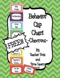 Clip Chart Behavior Management System Behavior Clip Chart Classroom Management Free Cute