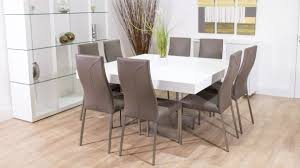 lovely  dining table and chairs white seater dining table