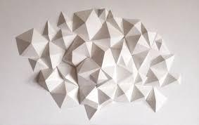 Top 100 best 3d geometric wall painting designs 2020 | 3d geometric accent wall painting ideas. Pin By Anders Kortbaek On Paper Sculpture Geometric Origami Paper Sculpture Geometric Art