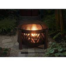 fire pit wood burning fire pit