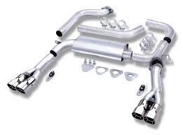 Borla Exhaust 14464 Borla Camaro Lt1 3 Inch Adjustable V8 1993 1995