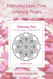 Free Love Coloring Pages Valentine S