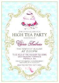 tea party templates girl party invitation templates free tea party invitation wording