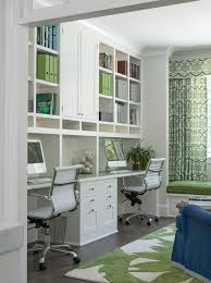 home office built ins. Home Office Built In Ideas Transitional With Built- Bookshelves Green Ins O