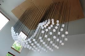 creative string light fixture