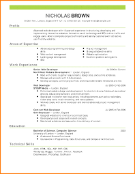 Effective Resume Resume Imposing How To Write Effective Curriculum Vitae Format 25