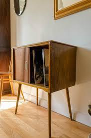 amazing vintage mid century modern teak viny and mid century sideboard with slide doors also sliding