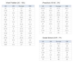 10 Adidas Boys Grade School Size Chart Adidas Boys Grade