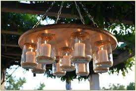 outdoor hanging candelabra chandelier candle home decor
