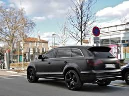 matte black audi a7. audi q7 matte black broom pinterest cars and dream a7