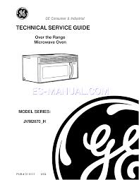 Ge Profile Microwave Repair Ge Microwave Oven Repair Manual Bestmicrowave