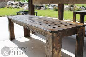 wooden outdoor table plans diy bench o pertaining to designs plan 7