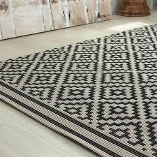 black and white outdoor rug target patio diamond mono land of rugs cream