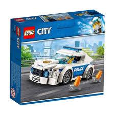 Đồ Chơi Lắp Ráp LEGO Xe Tuần Tra Cảnh Sát 60239 - TOYBOX