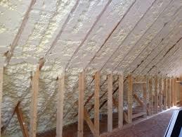 attic spray foam insulation diy cost