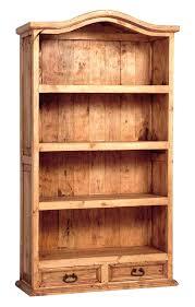rustic bookcase oak with doors storage ideas . rustic bookcase ...