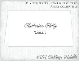 Fold Over Place Cards Fold Over Place Card Template New Fold Over Place Card Template