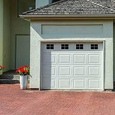 Image Kitchen Image Unavailable Amazoncom Decorative Magnetic Garage Door Window Panes Black 1 Car Garage