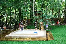 Ziggity Zoom backyard splash pool
