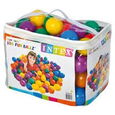 Buy Intex Fun Balls Multi Color Online At Low Prices In India