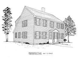 Free Saltbox House Plans   Saltbox House Floor PlansSaltbox House Plan