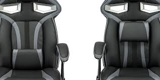 roadster 1 gaming chair with adjule lumbar support in black grey img 3 1270