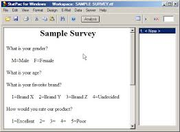Using An Ms Word Document To Create A New Survey