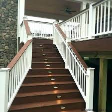 indoor stair lights staircase lighting ideas outdoor step lighting ideas best deck steps porch steps and