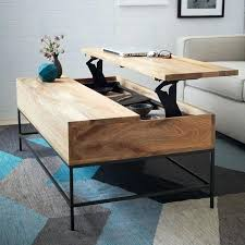 rustic storage coffee table west elm rustic storage coffee table assembly instructions orrick rustic solid oak 4 drawer storage coffee table