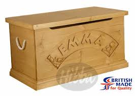 kids wooden toy box
