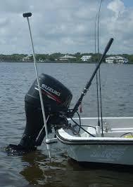 transom mount tuff tiller custom anchoring