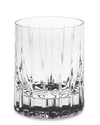 dorset crystal single old fashioned glasses