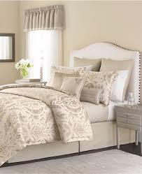 martha stewart beddding hanover crest 22 19 pc queen comforter set ivory a795