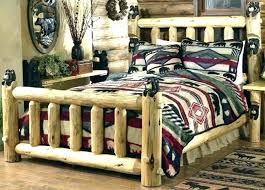 Queen Log Bed Frame For Sale Size Plans Pine 9 Best Beds Collection ...