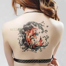 водонепроницаемая временная татуировка наклейка на тело большая рука