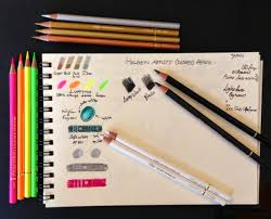 Markers Guild Holbein Artists Colored Pencils