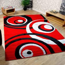 impressive decoration large black living room rug rectangle red black and cream rug for living room