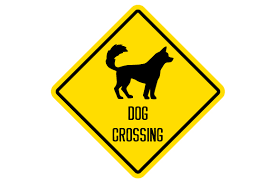 Many familiar christmas symbols are full of biblical meaning and christian history.christmas is filled with symbols. Dog Crossing Sign Svg Cut File By Creative Fabrica Crafts Creative Fabrica