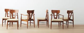 mid century dining chair. Vintage Midcentury Dining Chairs, Set Of 6 Mid Century Chair
