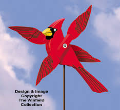 Whirligig Patterns Amazing Wind Action Project Patterns Cardinal Whirligig Pattern