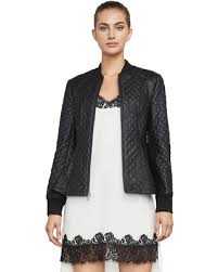 Sweet Deal on BCBGMAXAZRIA Charles Faux-Leather Quilted Jacket & BCBGMAXAZRIA Charles Faux-Leather Quilted Jacket Adamdwight.com
